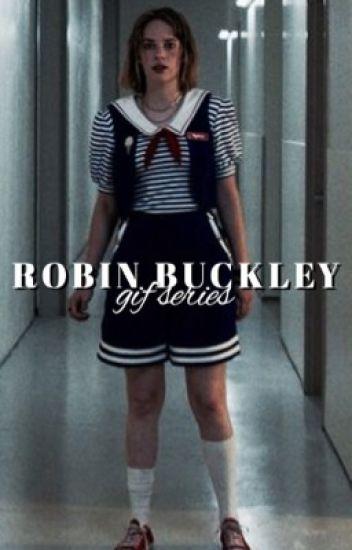 robin buckley | stranger things ~ gif series / imagines