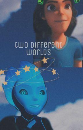 Two Different Worlds// Krel Tarron  by batcatlove