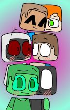 Ask Or Dare! Herobrine, Entity303, Null, And Green Steve by Creator_Creates