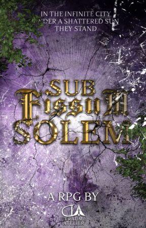Sub Fissum Solem by traumatelier