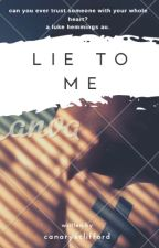 lie to me  :   luke hemmings by canaryxclifford