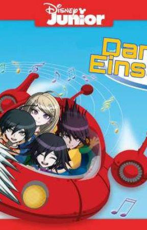 Dangan Einstines (Little Einstiens but its Danganronpa) by SassberrySnap