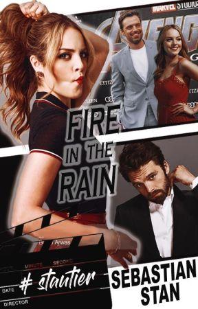 FIRE IN THE RAIN ― Sebastian Stan by duffito2