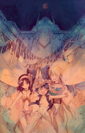 ♡ Once upon a Time... Morgiana ♡ by Nanao-san-