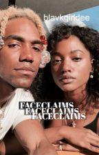 melaninated face claims by blavkgirldee
