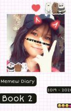 Memew Diary 2019-2020 book 2 by iluv_bangtan101