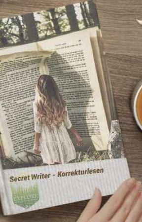 Secret Writer - Korrekturlesen by Ashley_Denali