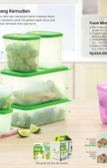 Agen Tupperware, Jual Tupperware, Tupperware Fresh Mint Collection