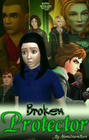 Broken Protector [Hogwarts Mystery Year 6 Retell] by AkemiStormBorn