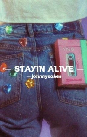 stayin' alive   stranger things by -johnnycakes