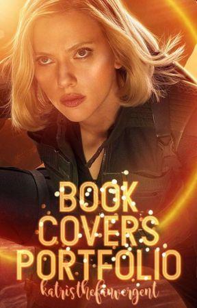 book cover portfolio  by katristhefanvergent