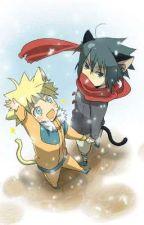 Sasunaru Wolf and Fox by ryujiryuzaki