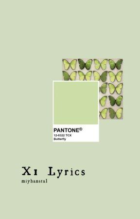 X1 Lyrics by MiyHanStal