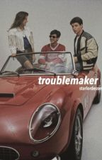 ferris bueller's day off gif series; 'troublemaker' by starlordesses