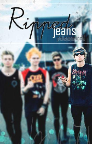ripped jeans    ashton irwin♡
