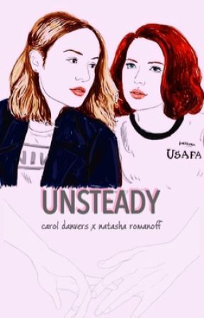 Unsteady - Carol Danvers x Natasha Romanoff by anotherbrokenworld