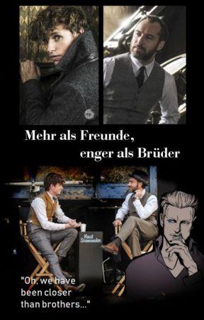 Mehr als Freunde, enger als Brüder (Newt x Dumbledore (x Grindelwald)) by Jessica-Graves
