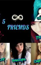-THE FIVE FRIENDS-  ( one direction story) by anicole4105
