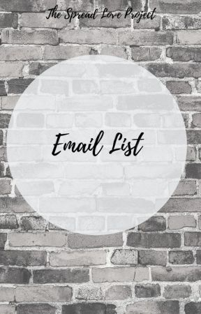 Email List by HopeWriters22