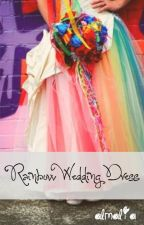 Rainbow Wedding Dress by ArumaAoi