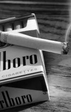 Smoking by -ItsMatt
