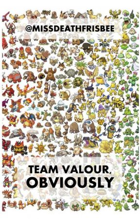Team Valour, Obviously by missdeathfrisbee
