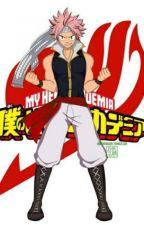 The Hero : Salamander! (Fire Dragon Slayer Male Reader x My Hero Academia) by DragonWizard43