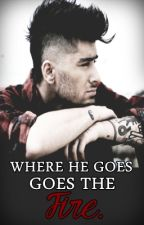 Where he goes, goes the fire.  Z.M  by niallerdrunk