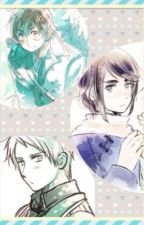Group Chat2 (Spamano, HongIce, Prucan) by rosetealatte