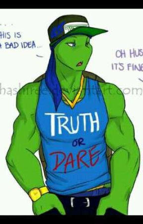 tmnt swag/punk truth or dare  by Tmnt_Blue