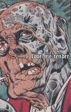 love me tender |. steve harrington  by javperhale