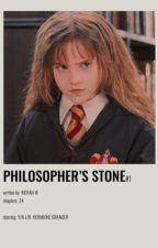 PHILOSOPHERS STONE | Hermione Granger x Male Reader (BOOK ONE) by kieran_w