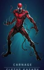 Carnage is Chaos!!: MLP Eg and marvel x male carnage reader by deadpoolmerkwiththem