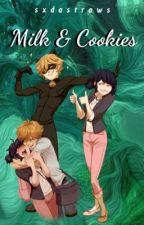 Milk & Cookies || MariChat & Adrienette by sxdastraws