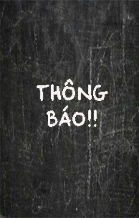 THÔNG BÁO! by tiemcomtronghem