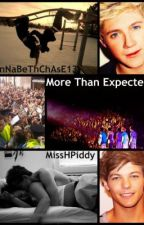 More Than Expected-A One Direction Fan Fiction {Completed} by BatmanxRobin