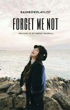 Forget Me Not | Jensoo by rainbowplaylist