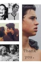 Thank you. (Nash Grier Fanfiction) by storyartist3