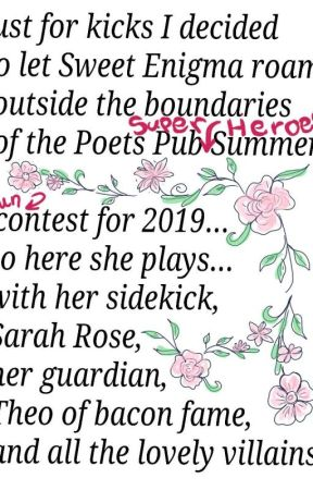 Poets Pub Super Heroes by naomimrshl