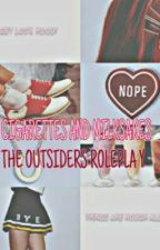 CIGARETTES AND MILKSAKES | The Outsiders Roleplay by -IMAGINARYPARTIES