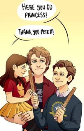 Harley Morgan and Peter: the sibling trio  by MirandaCipher