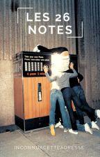 Les vingt-six notes  -  Concours d'écriture by InconnuACetteAdresse
