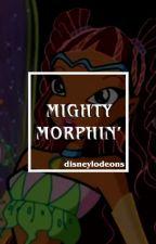 mighty morphin'! ( power rangers 2017. ) by disneylodeons