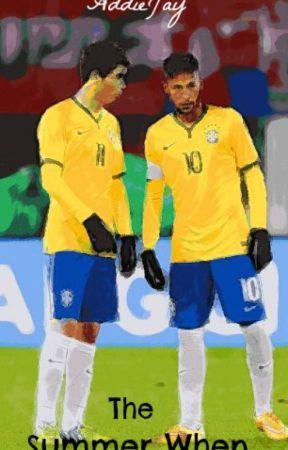 The Summer When (Thiago Silva, Oscar Emboaba, Neymar Jr) by AddieJay