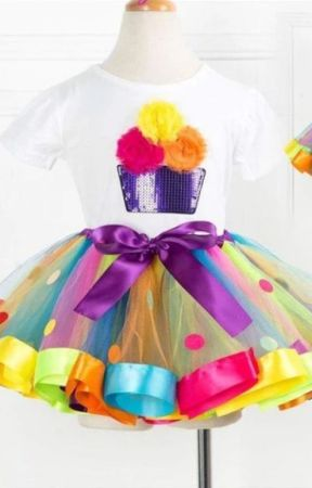 Little Girls Gorgeous Boutique Tutu Sets for Spring Season by miabellebaby2