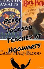 Percy Jackson teaches at Hogwarts by AnnabethCJ