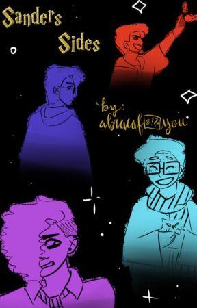 """nonsensical talking headwear"" • sanders sides!hogwarts au by abracafuckyou"