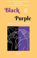 Black & Purple; Her Favorite Colors by jnaitsky