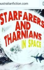 Starfarers and Tharnians in Space - Preview (novel on Amazon) by davidhearnewriter