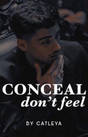 Conceal, don't feel (ZARRY AU) by MissCATLEYA